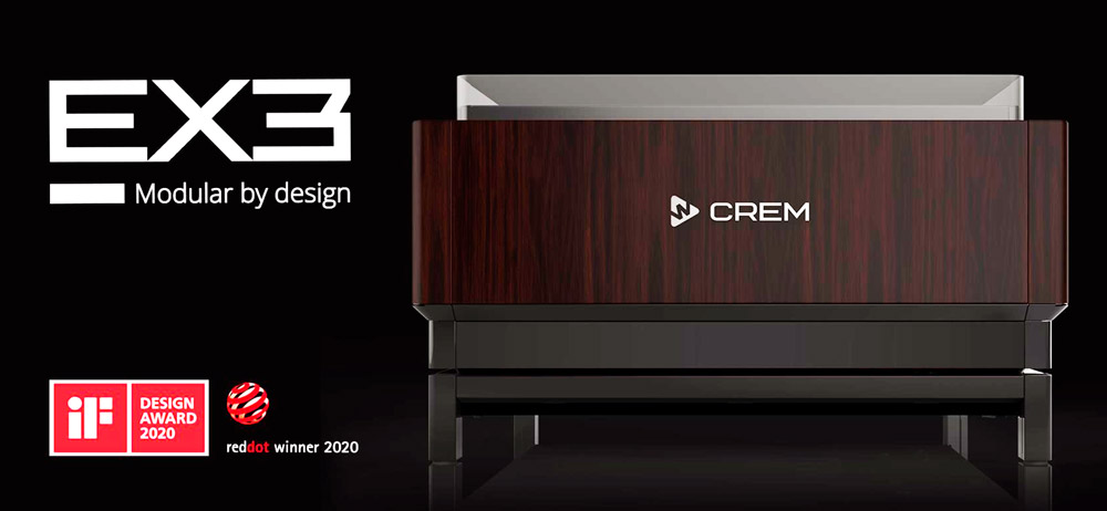 Дизайн кофемашин Crem EX3 был отмечен наградой ADI Design Awards 2020